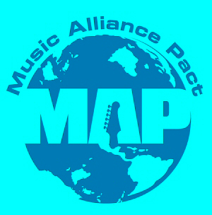 map-junio2011 Music Alliance Pact - Junio 2011