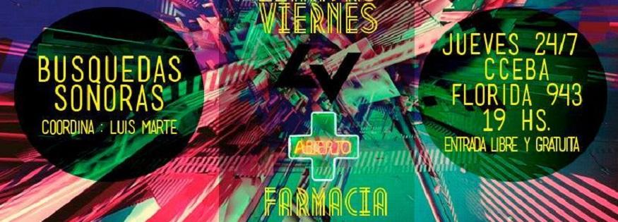 Farmacia y Leandro Viernes en el CCEBA