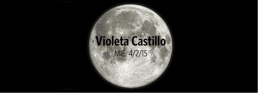 Violeta Castillo e invitados en el ciclo de luna llena en Camping