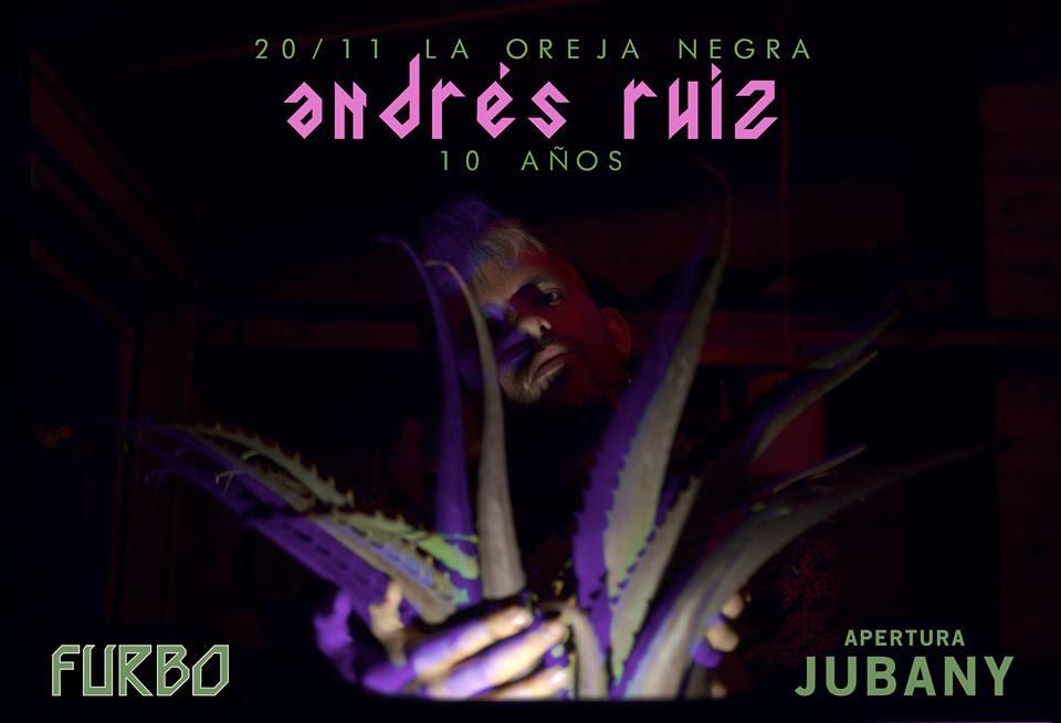 Andrés Ruiz festeja 10 años de música