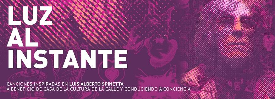 Luz Al Instante, un homenaje al Flaco Spinetta