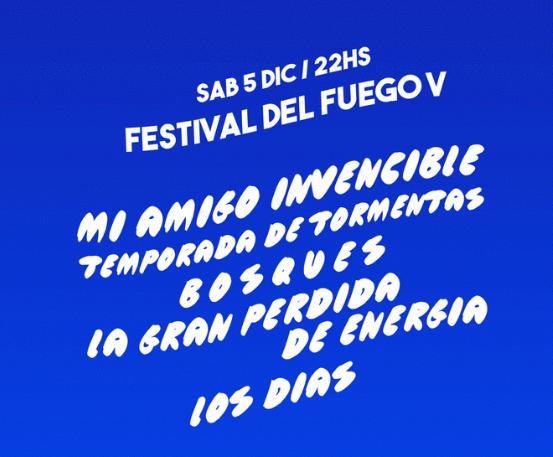 Festival del Fuego V