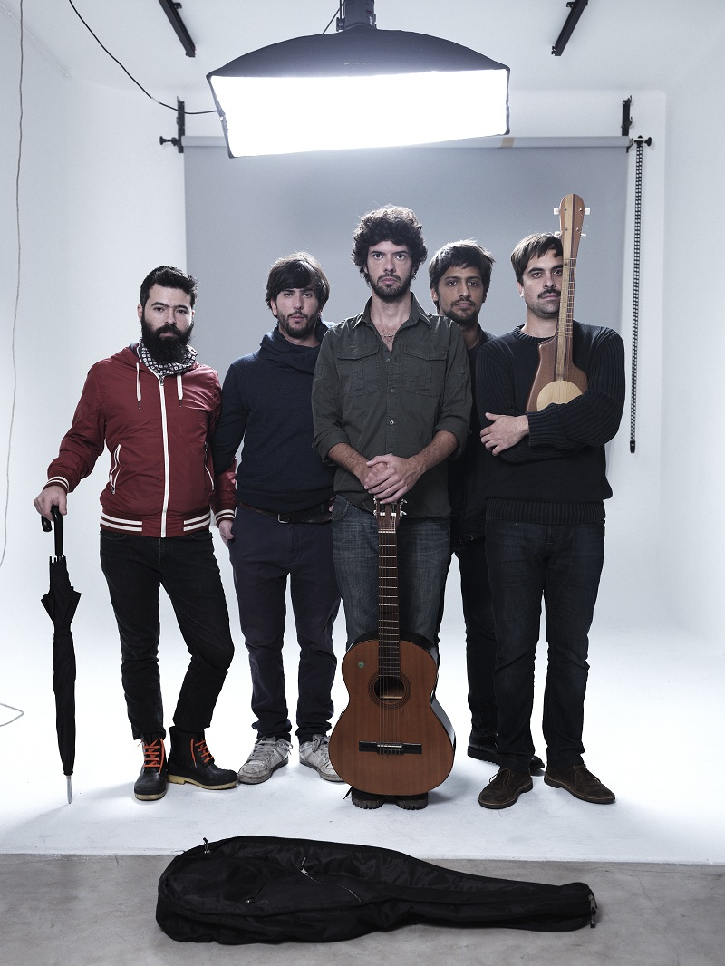 Onda Vaga anticipa su nuevo álbum en el patio del Konex